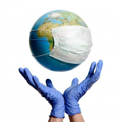 earth-globe-with-protective-mask-hands-with-gloves_74782-390